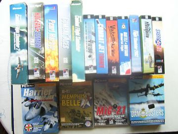 Flight Simulator Massive PC Job Lot Ultimate Collection